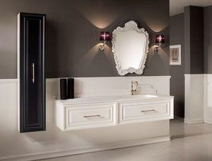 BLEU PROVENCE - meuble charme 3 - Meuble De Salle De Bains