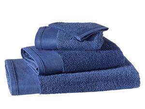 BLANC CERISE - drap de douche - coton peigné 600 g/m² - uni - Serviette De Toilette