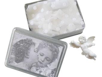 Mathilde M - bo�te anges amoureux, parfum poudre de riz - Parfum D'int�rieur