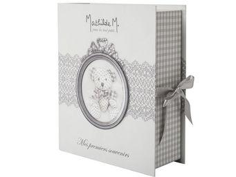 Mathilde M - bo�te � souvenirs nounours - Coffret De Naissance