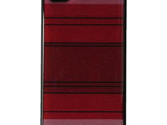 Les Toiles Du Soleil - coque iphone 4/4s pasteque rouge - Coque De Téléphone Portable