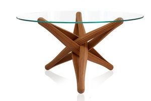 PLANKTON avant garde design - lockbamboo dining table - Pied De Table