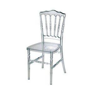DECO PRIVE - chaise de reception napoleon transparente - arriva - Chaise