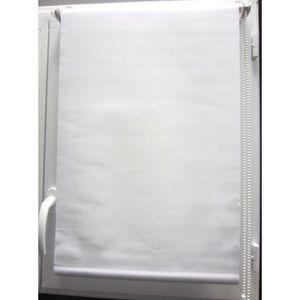 Luance - store enrouleur occultant blanc 90x180 cm - Store Enrouleur