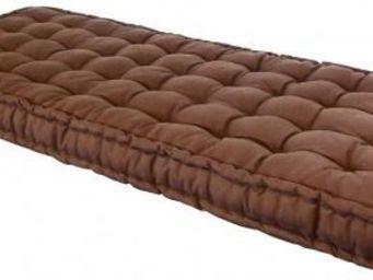 Futon Design - matelas 90 x 190 cm futon chocolat - Matelas À Ressorts