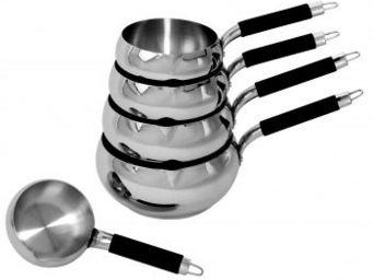 SCHUMANN PROFESSIONNEL - 5 casseroles inox pomme 12, 14, 16, 18 & 20 cm - Casserole