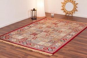 NAZAR - tapis kashmir 120x170 red - Tapis Traditionnel