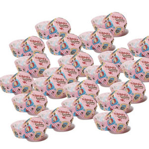 WHITE LABEL - 10 paquets de 100 moules de cuisson en papier déco - Moule À Gâteau