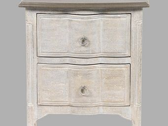 BLANC D'IVOIRE - emilie new grès - Table De Chevet