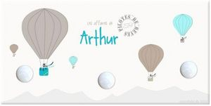 BABY SPHERE - portemanteau montgolfière - Porte Manteau Enfant