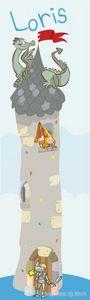 BABY SPHERE - affiche géante personnalisée chevaliers - Affiche