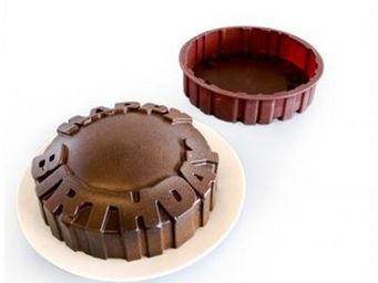 Manta Design - moule silicone happy birthday - Moule À Gâteau