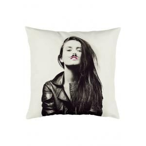 TODAY - coussin miss fluo - Coussin Carré