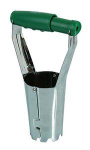 RIBILAND by Ribimex - plantoir à bulbes automatique en acier - Plantoir