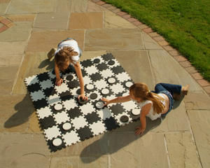 Traditional Garden Games - jeu de dames g�ant - Jeu De Soci�t�