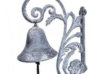 L'HERITIER DU TEMPS - cloche portail en fonte 28 cm - Cloche D'extérieur
