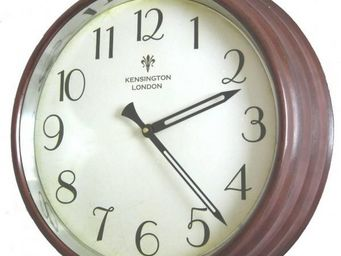 L'HERITIER DU TEMPS - horloge de style gare vitrée - Horloge Murale