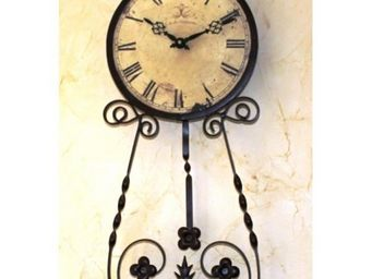L'HERITIER DU TEMPS - horloge murale à balancier d'antan 25cm - Horloge Murale