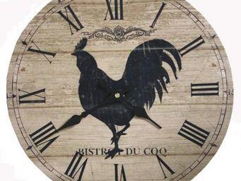 L'HERITIER DU TEMPS - horloge murale coq ø35cm - Horloge Murale