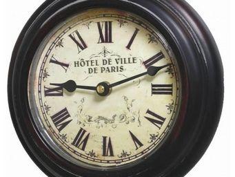 L'HERITIER DU TEMPS - pendule style ancien ø21cm - Horloge Murale