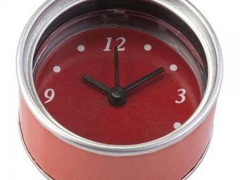 La Chaise Longue - horloge magnet rouge - Magnet