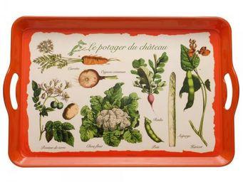 La Chaise Longue - plateau laqué légumes - Plateau