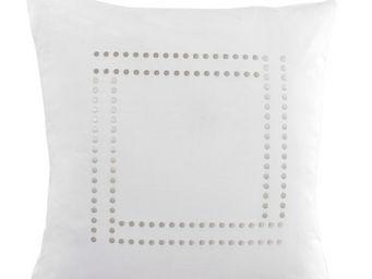 Essix home collection - taie d'oreiller venezia blanc - Taie D'oreiller
