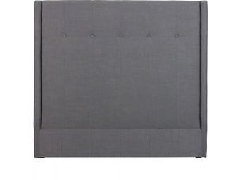 BLANC D'IVOIRE - alex gris - Tête De Lit