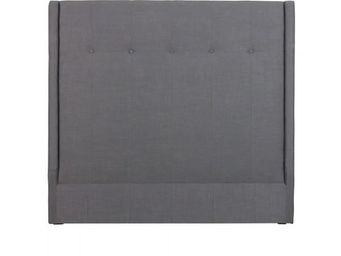 BLANC D'IVOIRE - alex gris - T�te De Lit