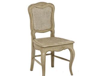 Interior's - lot de 2 chaises assise cannée - Chaise