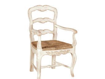 Interior's - fauteuil - Fauteuil Paillé