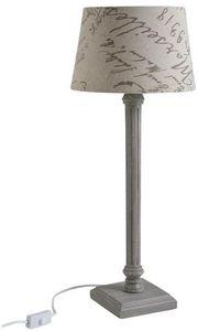 Aubry-Gaspard - lampe en bois design - Lampe À Poser