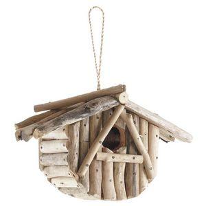 Aubry-Gaspard - nichoir oiseau en bois flott� - Maison D'oiseau