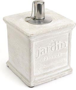 Amadeus - lampe à huile en ciment jardin d'amour - Lampe À Huile