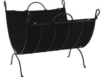Aubry-Gaspard - porte-b�ches pliable en fer forg� - Porte Buches