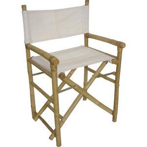 Aubry-Gaspard - fauteuil bambou metteur en scène - Fauteuil De Jardin