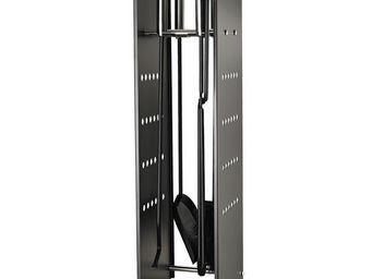 Aubry-Gaspard - valet de chemin�e avec accessoires lin�a - Serviteur De Chemin�e