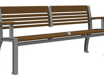Maglin Site Furniture - mlb700 - Banc Urbain