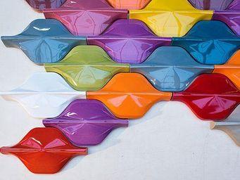FAUVEL- NORMANDY CERAMICS - wave & demi wave-  - Revêtement Mural