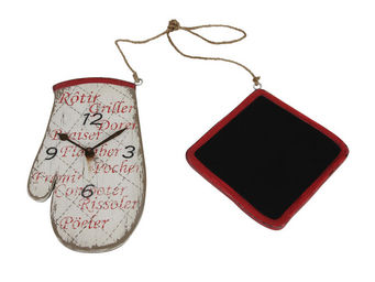 Interior's - horloge menu manique - Horloge Murale