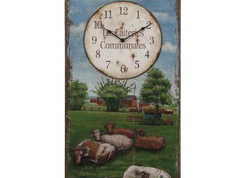 Interior's - horloge les vaches - Horloge Murale