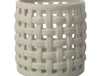 Interior's - lanterne en porcelaine pois & compagnie pm - Photophore