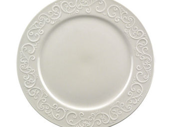 Interior's - assiette plate en porcelaine arabesque - Assiette Plate
