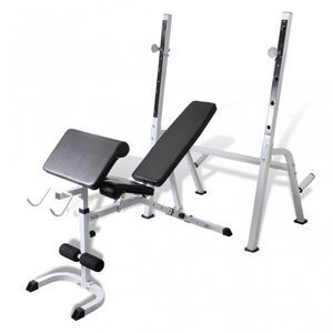 WHITE LABEL - banc de musculation appareil fitness - Banc De Musculation