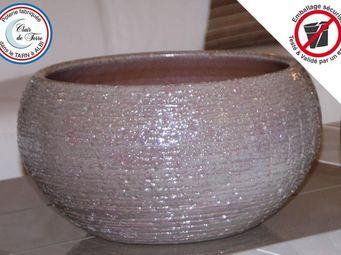 Les Poteries Clair de Terre - stone - Cache Pot