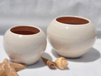 Les Poteries Clair de Terre - boréal - Vase Décoratif