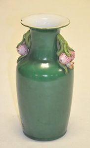 Demeure et Jardin - vase vert aux fruits - Vase Décoratif