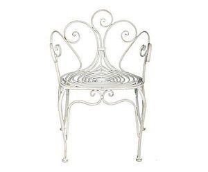 Demeure et Jardin - petit fauteuil paon - Fauteuil De Jardin