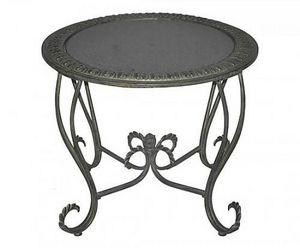 Demeure et Jardin - table plateau de marbre - Table De Jardin