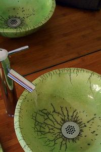 KAOLIN CREATIONS - vert annis - Vasque À Poser